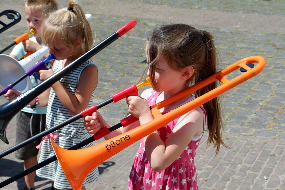 Kinderen Pbone workshop